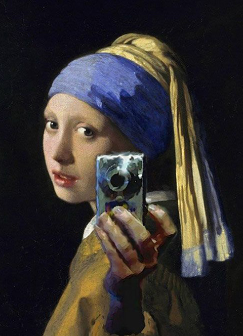 The Dutch painter Vermeer