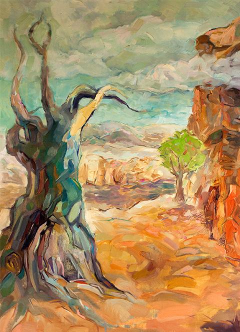 Original oil painting. Modern Impressionism